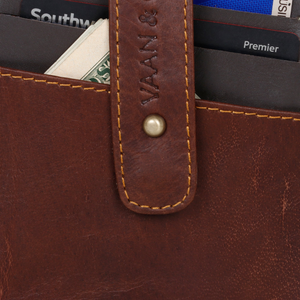 Recycled Leather 5 Star Credit Card Wallet