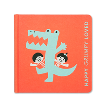 Load image into Gallery viewer, Happy Grumpy Loved- Baby Book