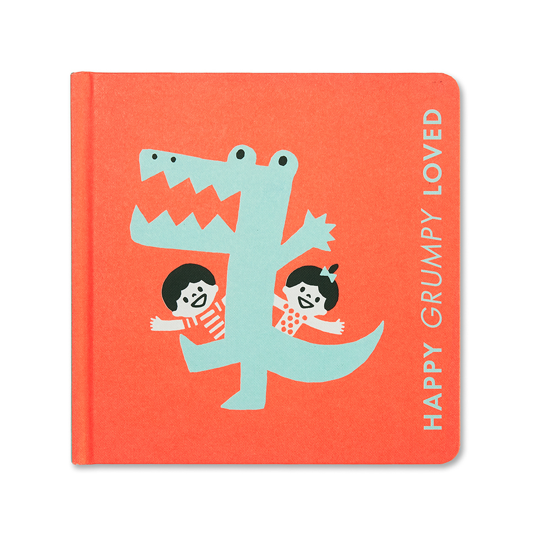 Happy Grumpy Loved- Baby Book