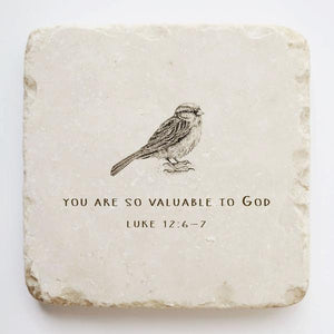 Luke 12:6-7 Stone- You are so valuable to God