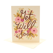 Load image into Gallery viewer, Get Well Soon- Greeting Card