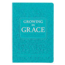 Load image into Gallery viewer, Growing in Grace Leather Daily Devotional Book