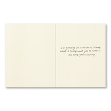 Load image into Gallery viewer, The Hurt is a Testament of Your Love- Encouragement Card