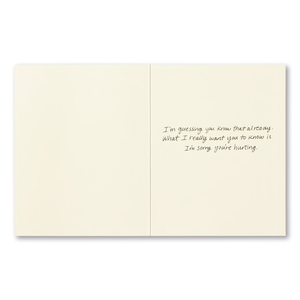 The Hurt is a Testament of Your Love- Encouragement Card