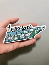 Load image into Gallery viewer, Tennessee Iris State Flower Sticker