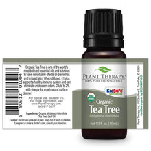 Load image into Gallery viewer, Tea Tree Organic Essential Oil