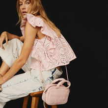 Load image into Gallery viewer, Maze Mini Satchel in Pink