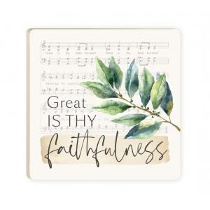 Great Is Thy Faithfulness Coaster