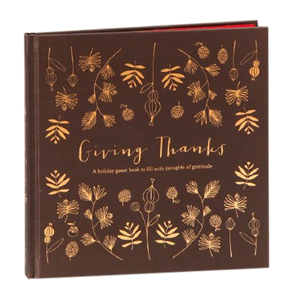 Giving Thanks- A holiday guest book