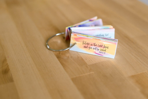 Travel Sized Scripture Cards