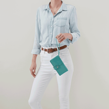 Load image into Gallery viewer, Marshal Wristlet Wallet in Seafoam