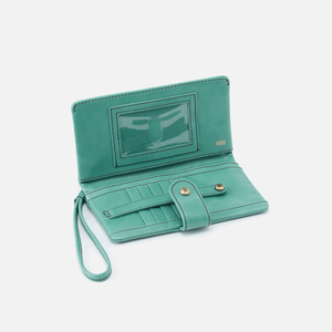 Marshal Wristlet Wallet in Seafoam