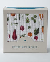 Load image into Gallery viewer, Farmers Market Cotton Muslin Quilt