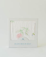 Load image into Gallery viewer, Peony Deluxe Muslin Quilt
