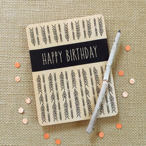 Happy Birthday- Greeting Card