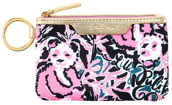 Lilly Pulitzer Key Id Card Case Hanging With My Boo