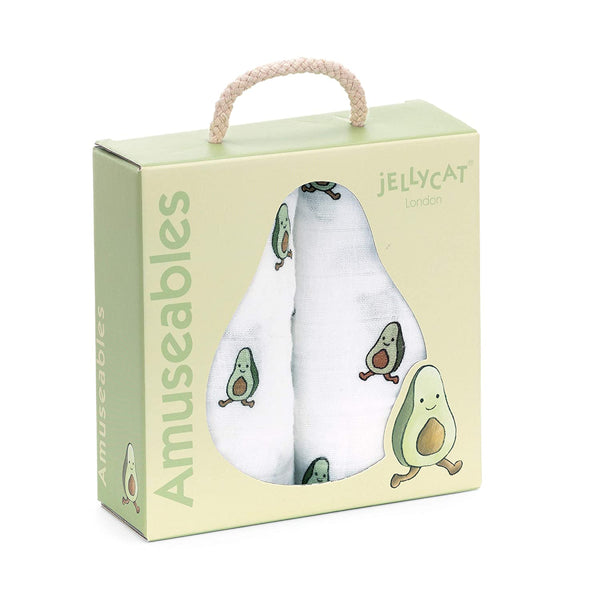 Jellycat Avacado Blanket Set of 2