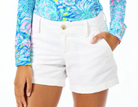 "Lilly Pulitzer 5"" Callahan Short Resort White"