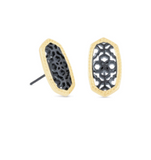 Kendra Scott Ellie Earring Gold with Filigree