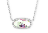 Kendra Scott Elisa Silver Necklace