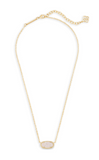 Kendra Scott Elisa Gold Necklace with Drusy
