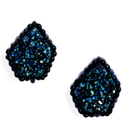 Kendra Scott Tessa Earrings Navy