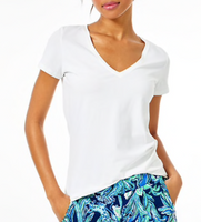 Lilly Pulitzer Michele Top White