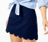 Lilly Pulitzer Colette Skort True Navy