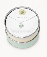 Spartina Sea La Vie Necklace Silver
