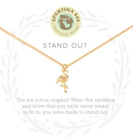 Spartina Stand Out Necklace Gold