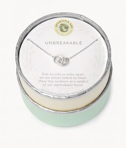 Spartina Unbreakable Necklace Silver