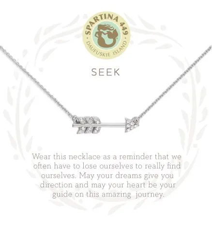 Spartina Seek Necklace Silver