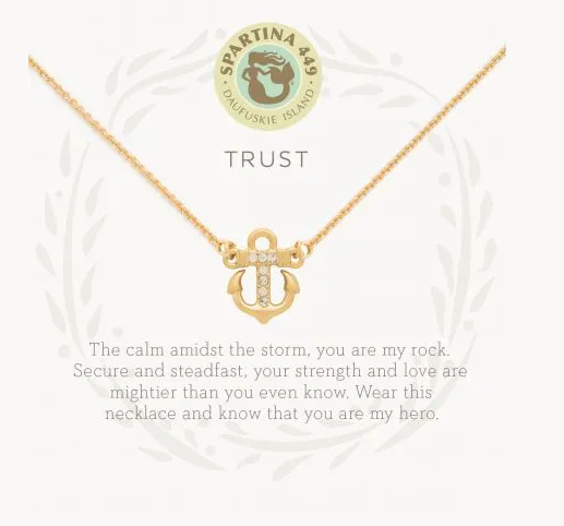 Spartina Trust Necklace Gold
