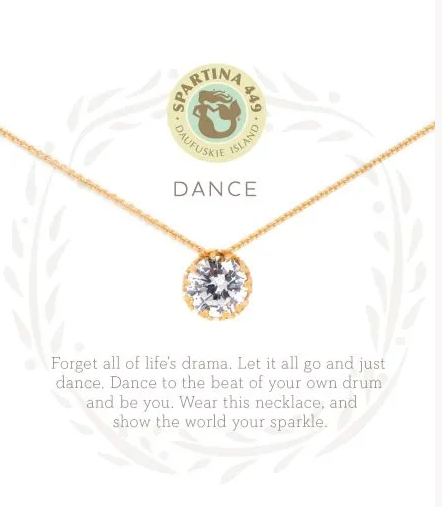 Spartina Dance Necklace Gold