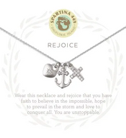 Spartina Rejoice Necklace Silver