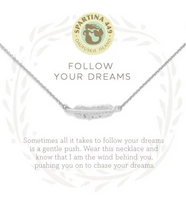 Spartina Follow Your Dreams Necklace Silver