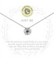 Spartina Just Be Necklace Silver
