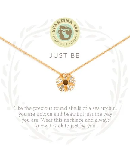Spartina Just Be Necklace Gold