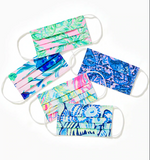 Lilly Pulitzer Printed Face Mask (print will vary)