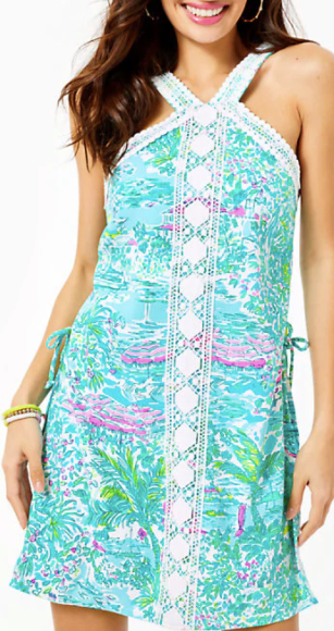 Lilly Pulitzer Ryder Shift Sunshine City