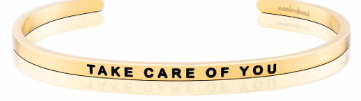 MantraBand Gold Take Care Of You