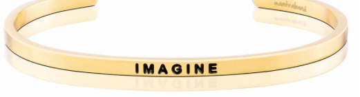 MantraBand Gold Imagine