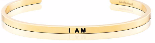 MantraBand Gold I am