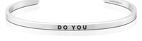 MantraBand Silver Do You Bracelet