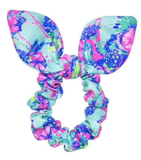 Lilly Pulitzer Scrunchie in Beach You To It
