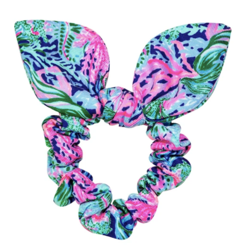 Lilly Pulitzer Scrunchie Bringing Mermaid Back