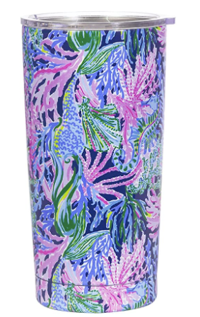 Lilly Pulitzer Insulated Tumbler in Bringing Mermaid Back