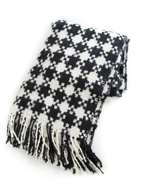 Mackenzie Childs Houndstooth Blanket