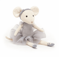 Jellycat Pebble Pirouette Mouse