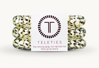 "Teleties Small 3 Pack ""Snow Leopard"""